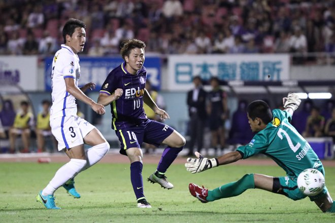 asano 2 goals against ashima