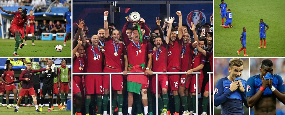 Portugal stun hosts France to win Euro 2016 thanks to stunner from Swansea flop Eder and they did it without injured Ronaldo