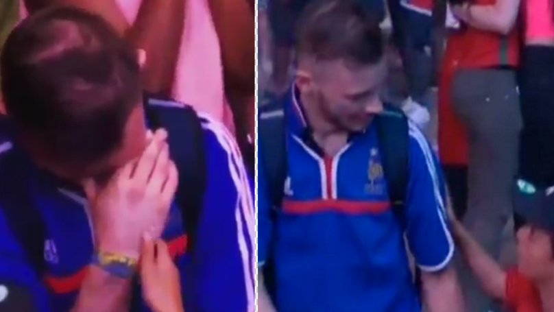 Young Portugal Fan Consoling Emotional France Supporter Will Make Your Day