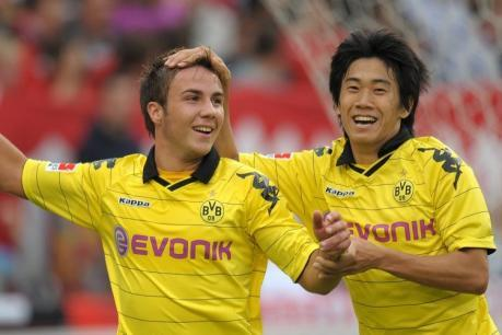 From Sahin to Kagawa to Gotze Dortmund are becoming used to finding new