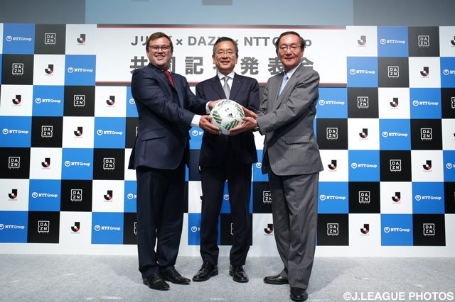The J_League announced a $2 billion broadcast contract with sports streaming service DAZN