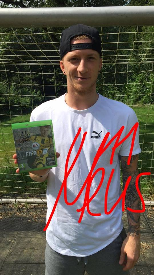 ‎FIFA17COVER‬ is Marco Reus