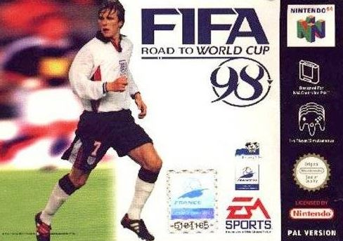 David Beckham- FIFA Road to the World Cup 98
