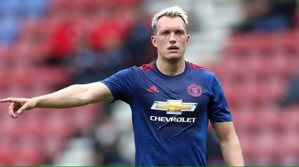 Phil Jones blonde