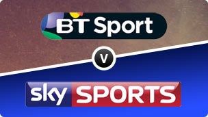 BT Sport v Sky Sport