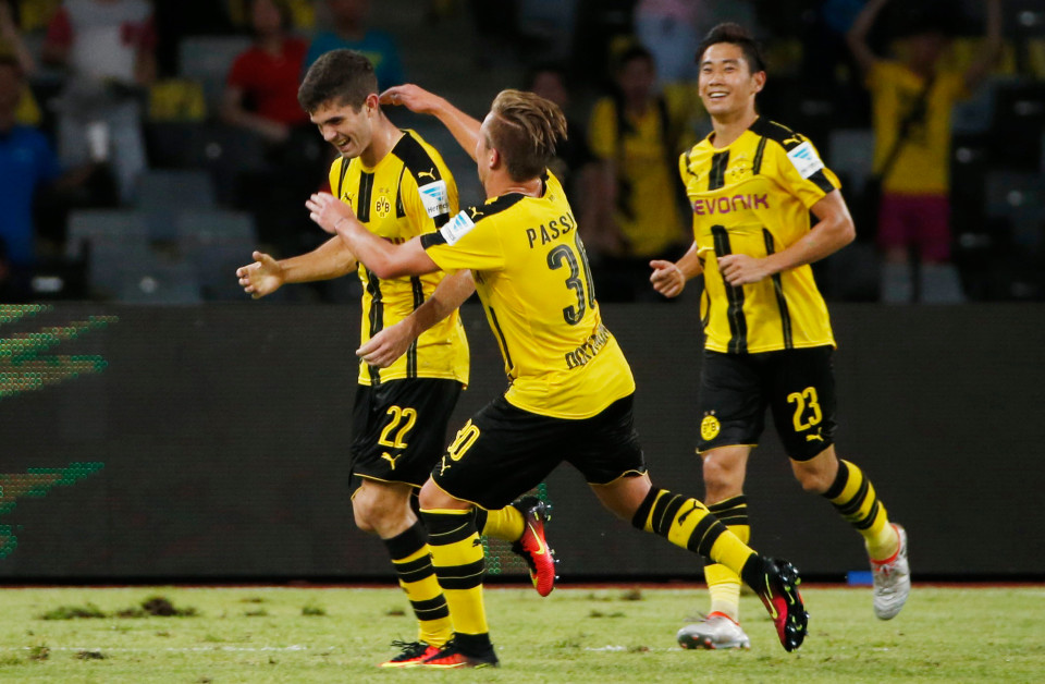 Borussia Dortmund equalised in the final seconds of the game to force penalties