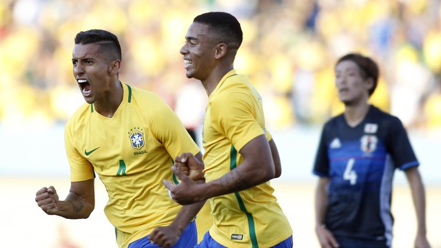 Marquinhos Brazil beat Japan 2x0