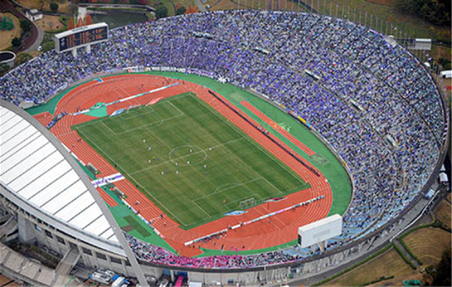 estadio-sanfrecce Hiroshima Big Arch