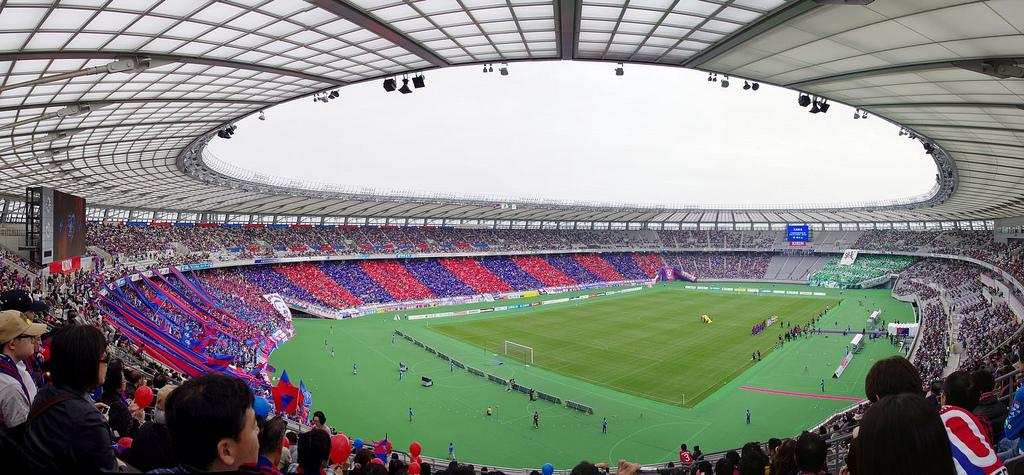 fc-tokyo Ajinomoto Stadium
