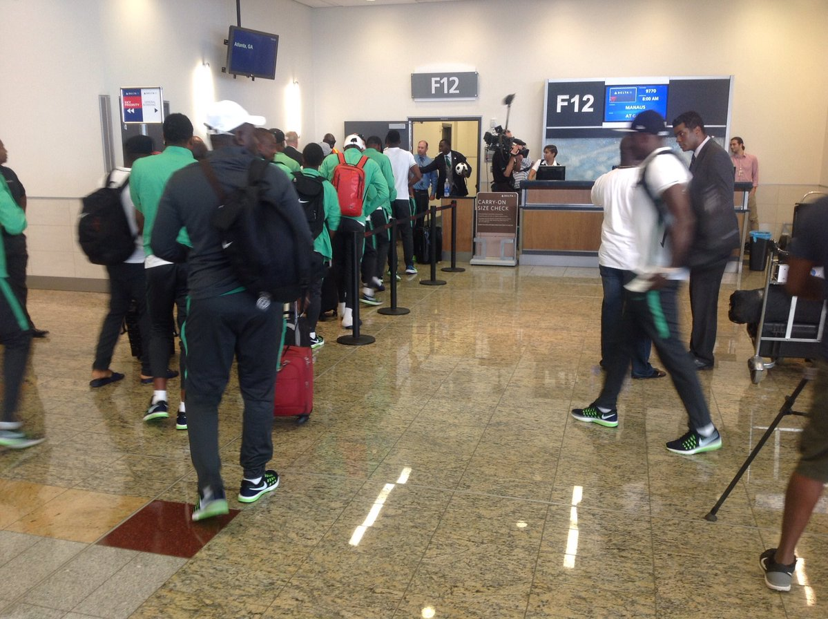 Nigeria U23s are in a race against time to arrive in Manaus 2