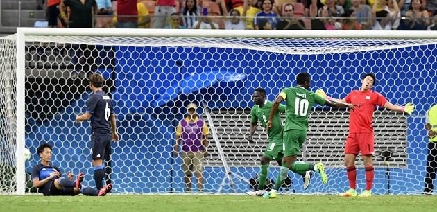 Nigeria U23 5-4 Japan U23 rio olympic