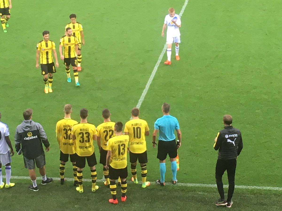 Schluss in Altach! Der BVB und @SunderlandAFC trennen sich 1_1