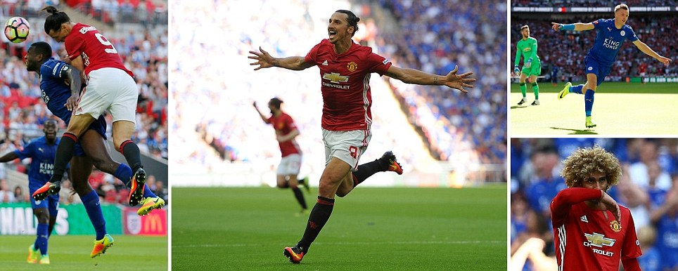 Manchester United win Community Shield as Ibrahimovic rises to the occassion and nets winner on competitive Red Devils debut
