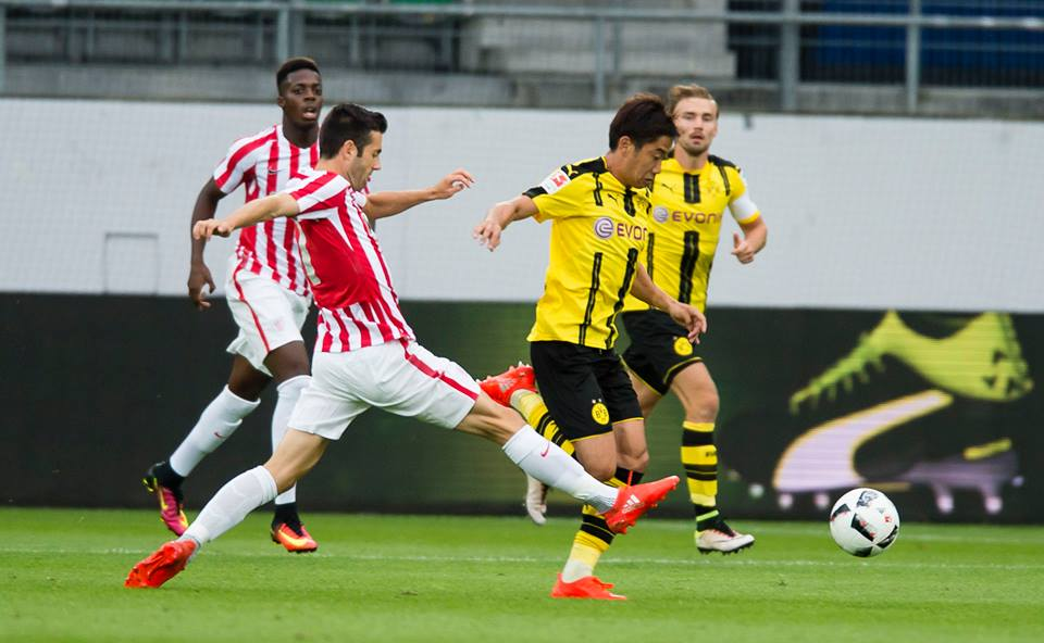 Borussia Dortmund has lost the last pre-season 0-1 (0-1) against Atletico Bilbao