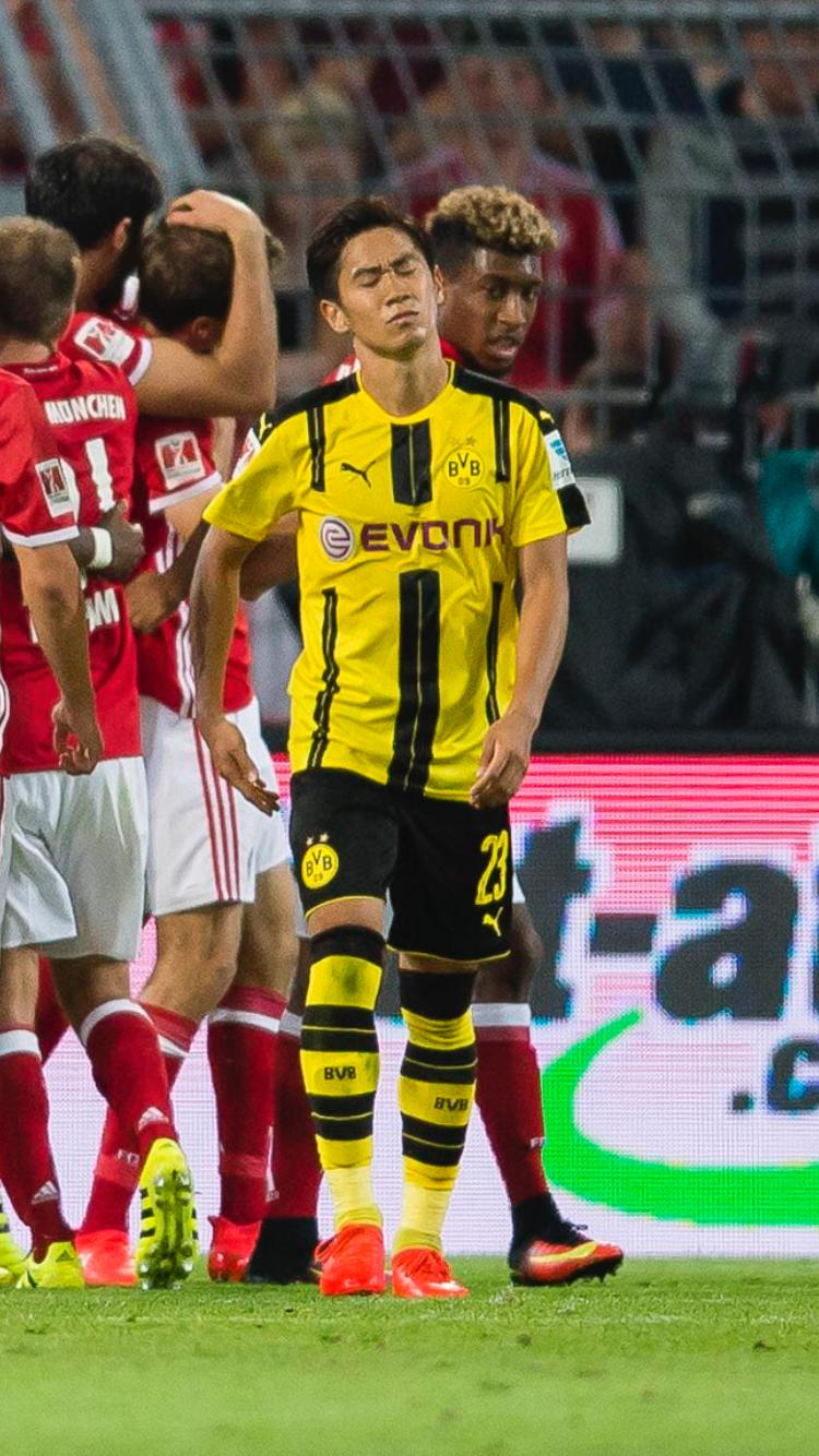 Shinjis expression about sums it up against bayern 2016