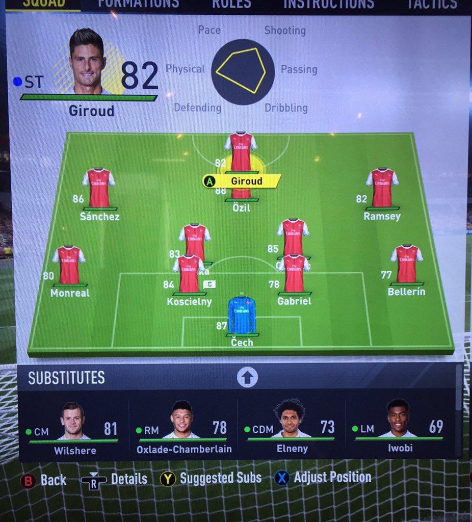 Arsenal en #FIFA17