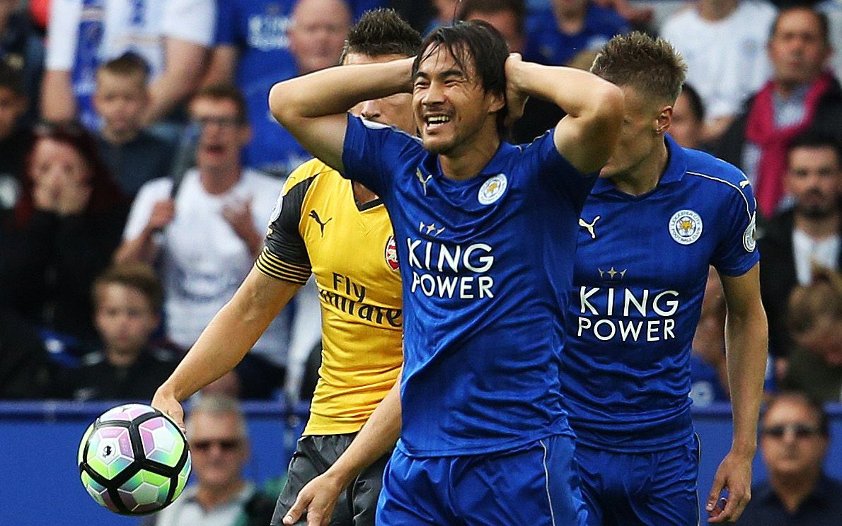 Cometh the hour-mark cometh the Okazaki substitution Poor Shinji Ulloa on