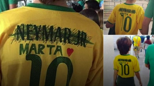 Brazils new football hero Marta not Neymar