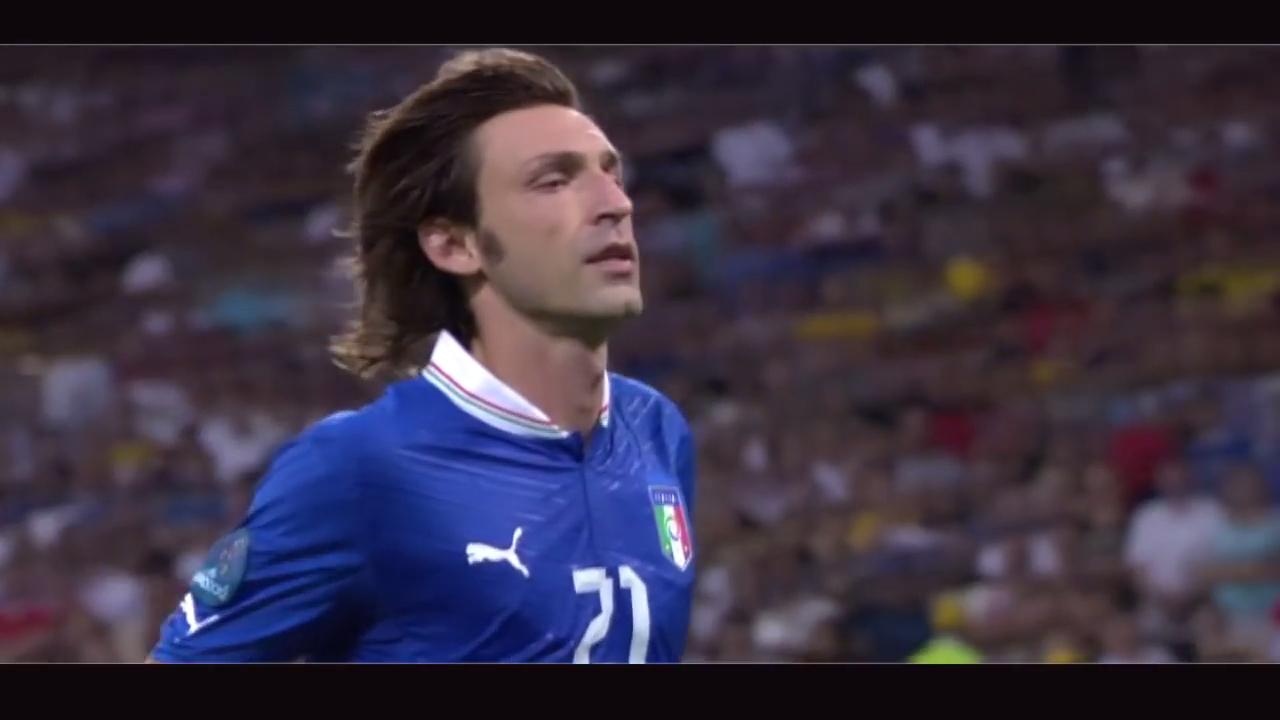 Pirlos Panenka penalty - Italy v Englan