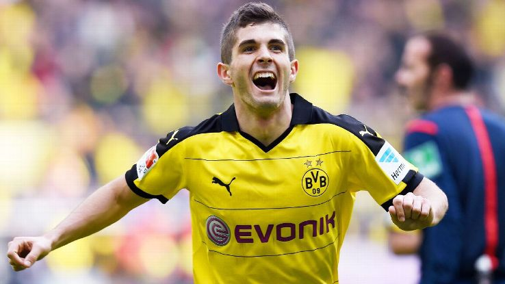 Christian Pulisic played a starring role in Dortmunds 3-0 win vs Hamburg