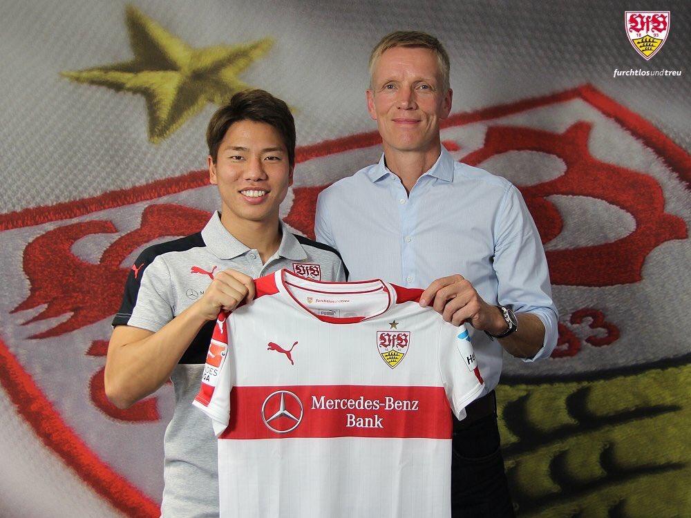 Asano joins Stuttgart on loan