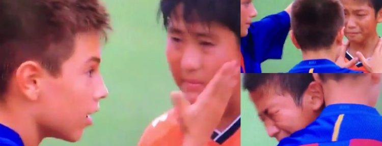 ENORMES El gran gesto de los chicos del Infantil B del FC Barcelona tras ganar una Copa en Japón