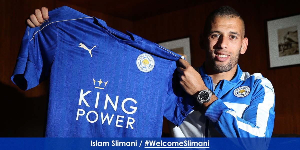 DONE DEAL! Algeria striker @slimaniislam completes a #DeadlineDay move to Leicester City