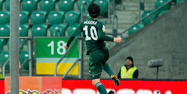 GOOOL! Ryota Morioka! @morsista44 raz w sezonie