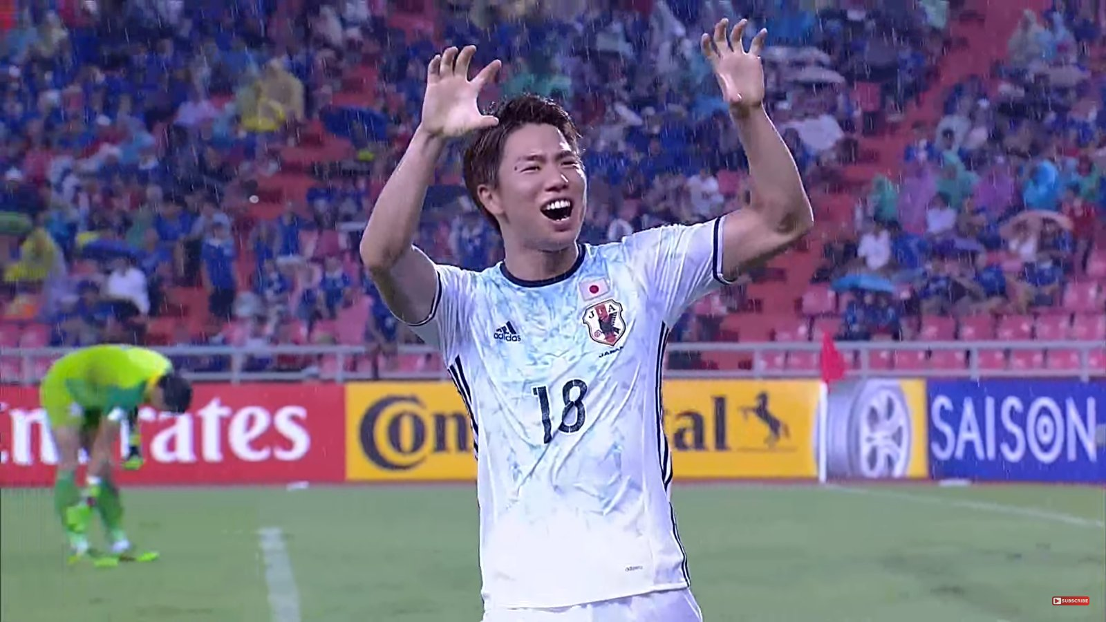Japan scraped the win Goals from Haraguchi and Asano