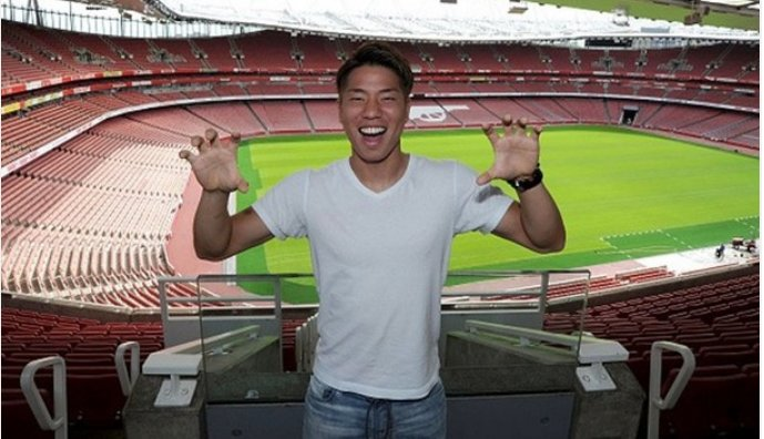 Wenger on Asano You do not find many players today who go behind defenders at every opportunity