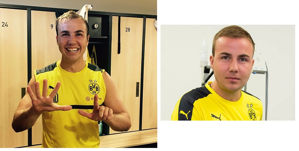 Mario Götze is getting in better shape