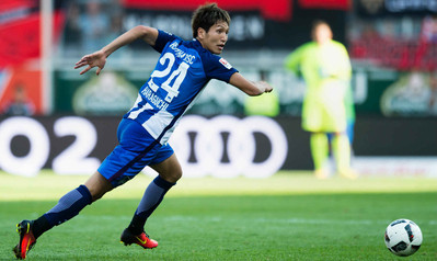 haraguchi 2 assists against Ingolstadt