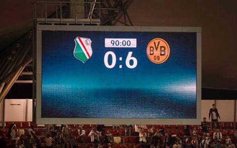 UCL Legia Warszawa 0_6 BVB
