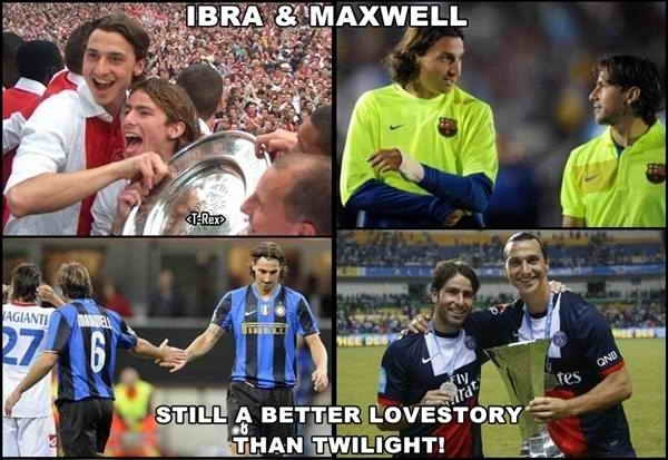 Ibra and Maxwell