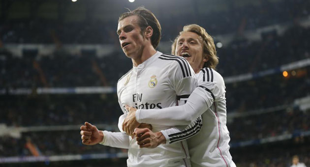 Modric brings Bale back to life