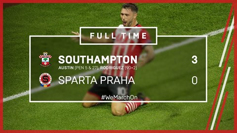 Its a perfect start for Southampton FC in the UEFA Europa League