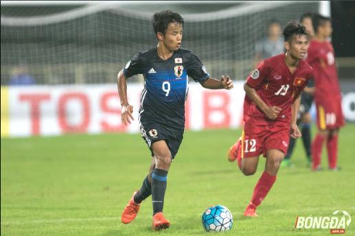 Kubo Takefusa Messi Nhật Bản dễ dàng góp 2 bàn vào chiến thắng 7_0 trước U16 Việt