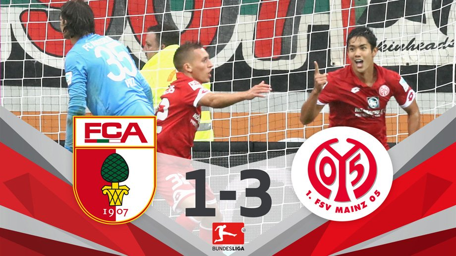 yoshimuto18 haunts @FCA_World again as @Mainz05en get 1st win