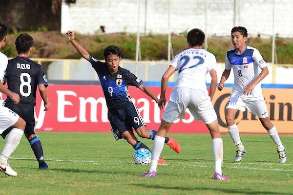 Kyrgyzstan 🇰🇬 0 - 8 Japan 🇯🇵 kubo takefusa