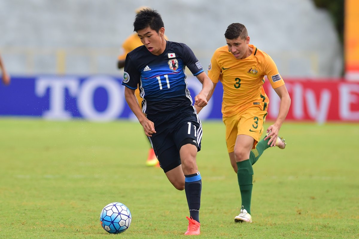 21 goals scored, 0 conceded Japan top #AFCU16 Group B after defeating #Australia 6-0