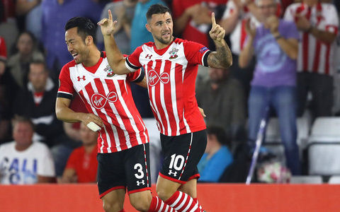 Southampton FC 2-0 Crystal Palace Football Club yoshida cleansheet