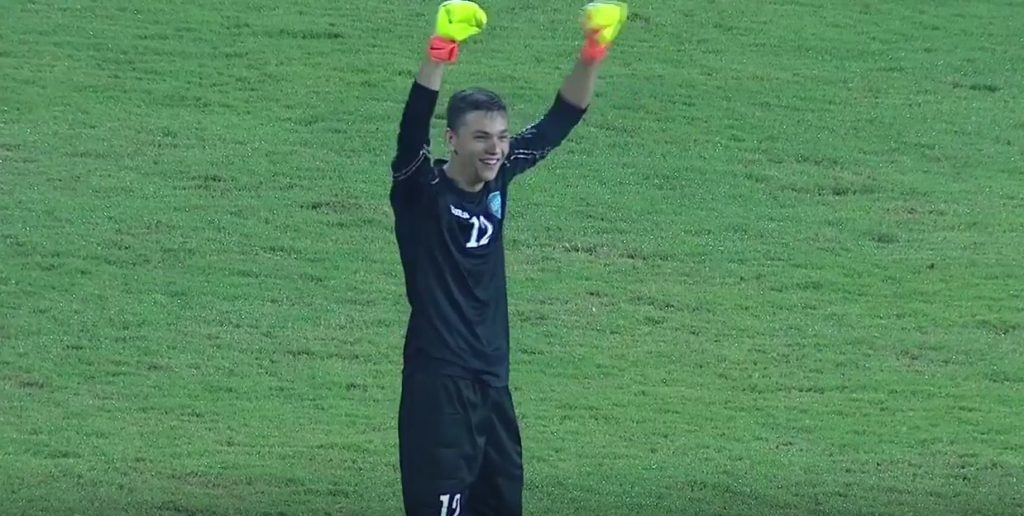 Uzbekistan keeper scores from his own box thanks to North Korea keeper's living nightmare
