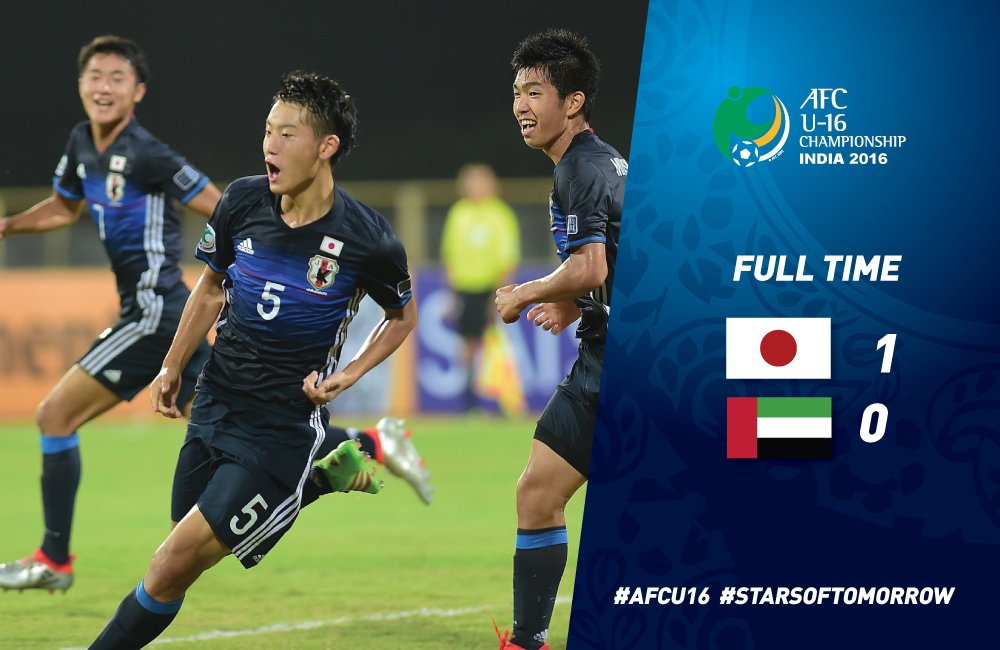Japan returned to the semi-finals of the #AFCU16 after missing out two years ago
