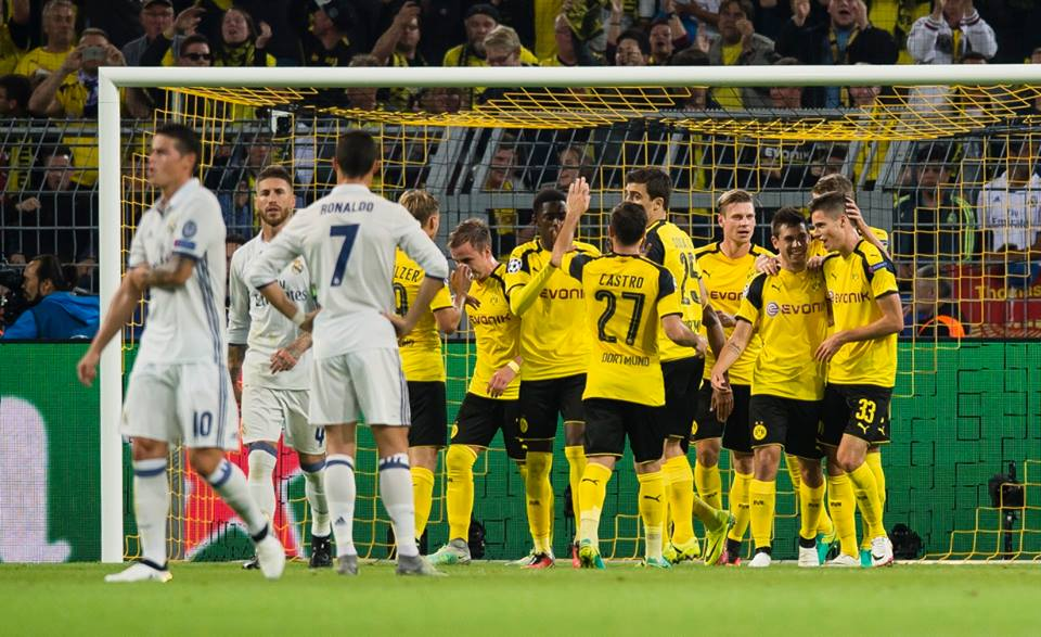 THATS IT! Borussia Dortmund vs Real Madrid 2-2