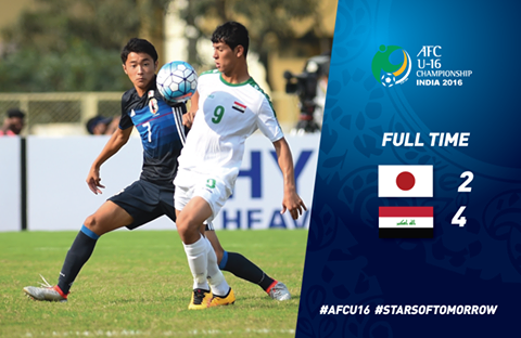 Iraq sealed their spot in the #AFCU16 final after a win over Japan
