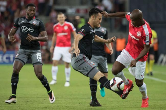 yoshida maya against Hapoel Beer Sheva 0-0 Southampton