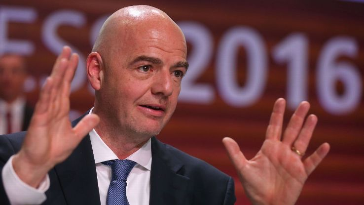 FIFAs Gianni Infantino unveils plan for 48-team World Cup with play-in round