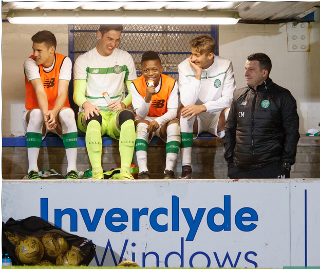 13 year-old Celtic youth player Karamoko Dembele subbed on in 81st minute in under-20s match against Hearts