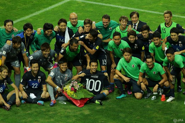 hasebe 100 caps japan international (1)