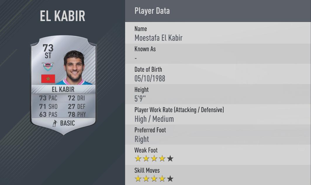 Moestafa El Kabir fifa17